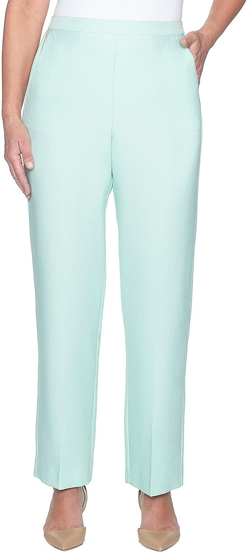 Alfred Dunner Women's Roman Holiday Pants - Short Length
