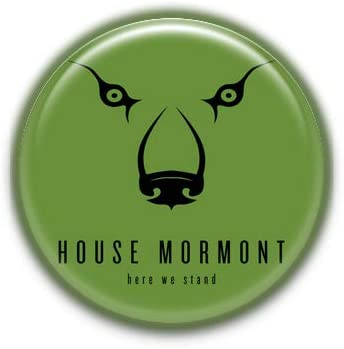 Home Mormont Minimalist : Game of Thrones, Pinback Button Badge 1.99 Inch (38mm)