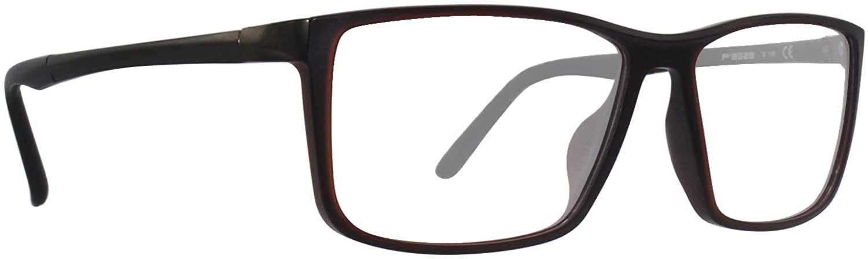 Porsche Design P8328 Red/Clear Lens Eyeglasses