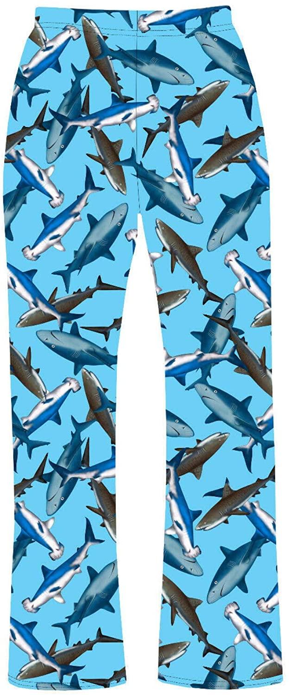 Sharks Sea Life Under Water Animal Printed Pyjamas Loungewear