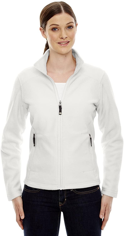 North End Womens VoyageFleece Jacket (78172) -CRYSTL QRTZ -3XL
