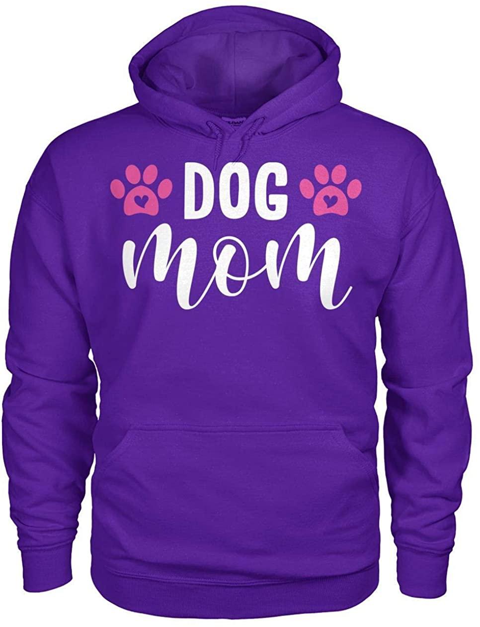 Fur Baby Mamas Dog Mom Script Hoodie
