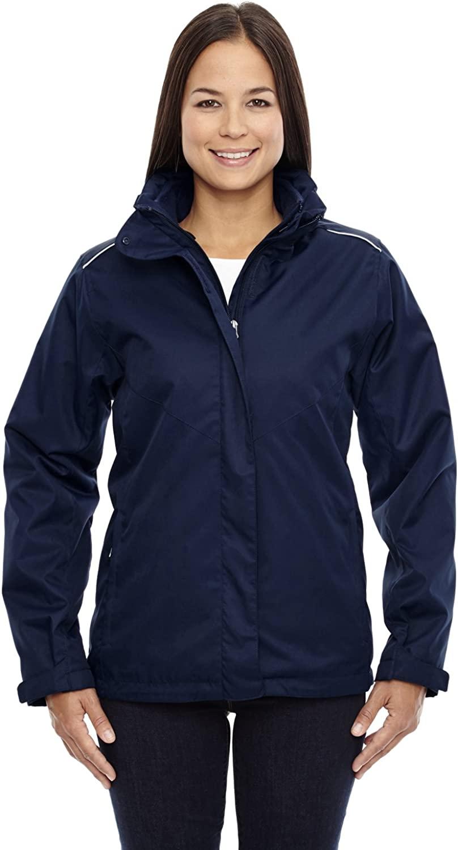 Core 365 Region Ladies 3-In-1 Jacket With Fleece Liner