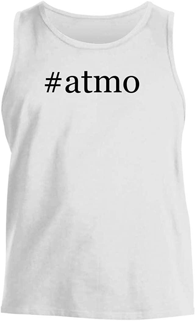#atmo - Men's Hashtag Comfortable Tank Top, White, Medium