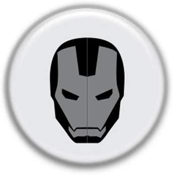 Iron Man Icon : Superheros, Pinback Button Badge 1.99 Inch (38mm)