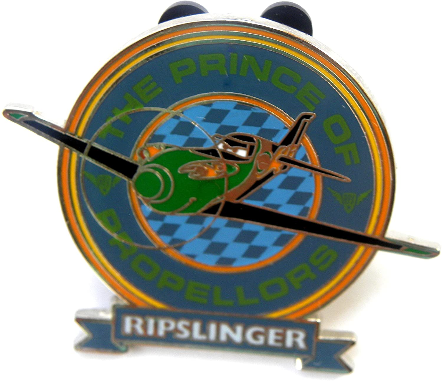 Disney Park Pin Planes Prince Of Propellors Ripslinger Booster