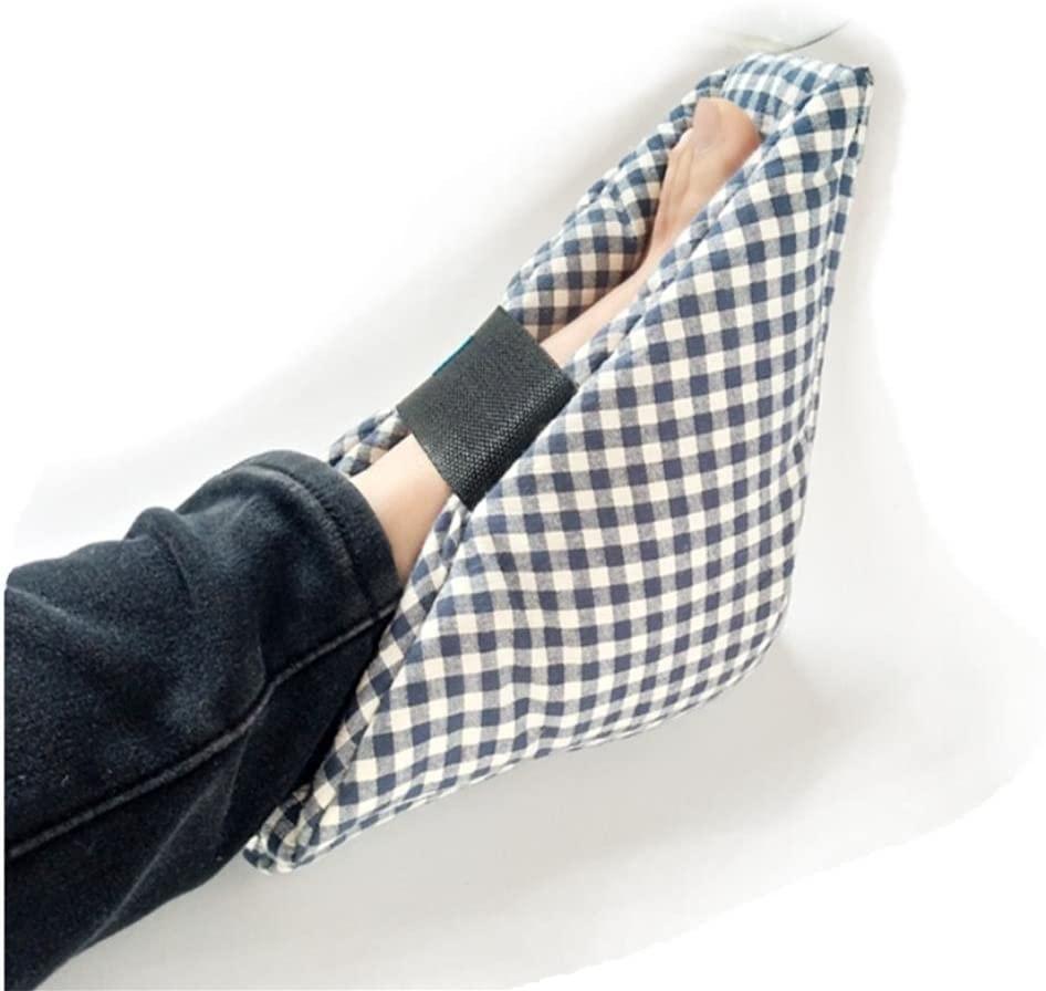 Effortsmy B-4001 Heel Cushions, Heel Protectors, 1 Pair, Cotton,25×25cm