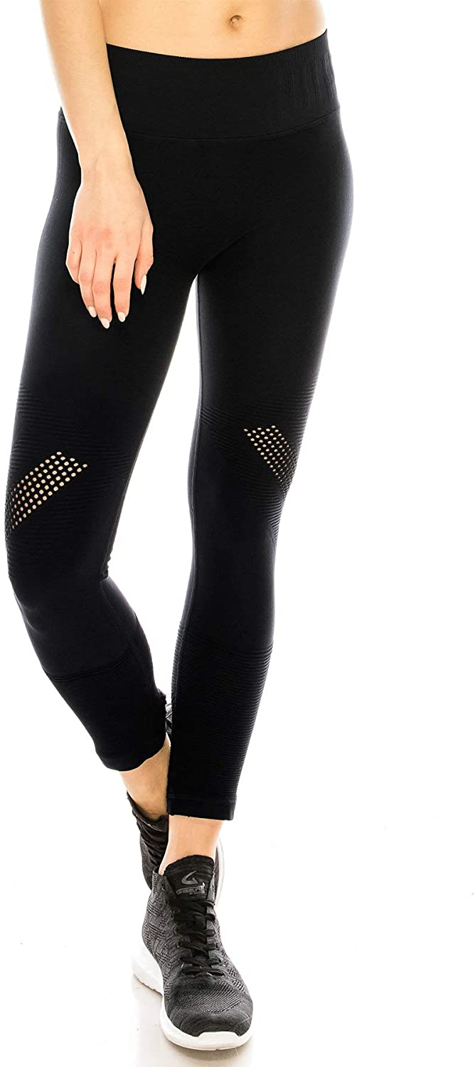 Kurve Sports Premium Athletic Yoga Comfortable Leggings, Rated UPF 50+ (Made with Love in The USA)