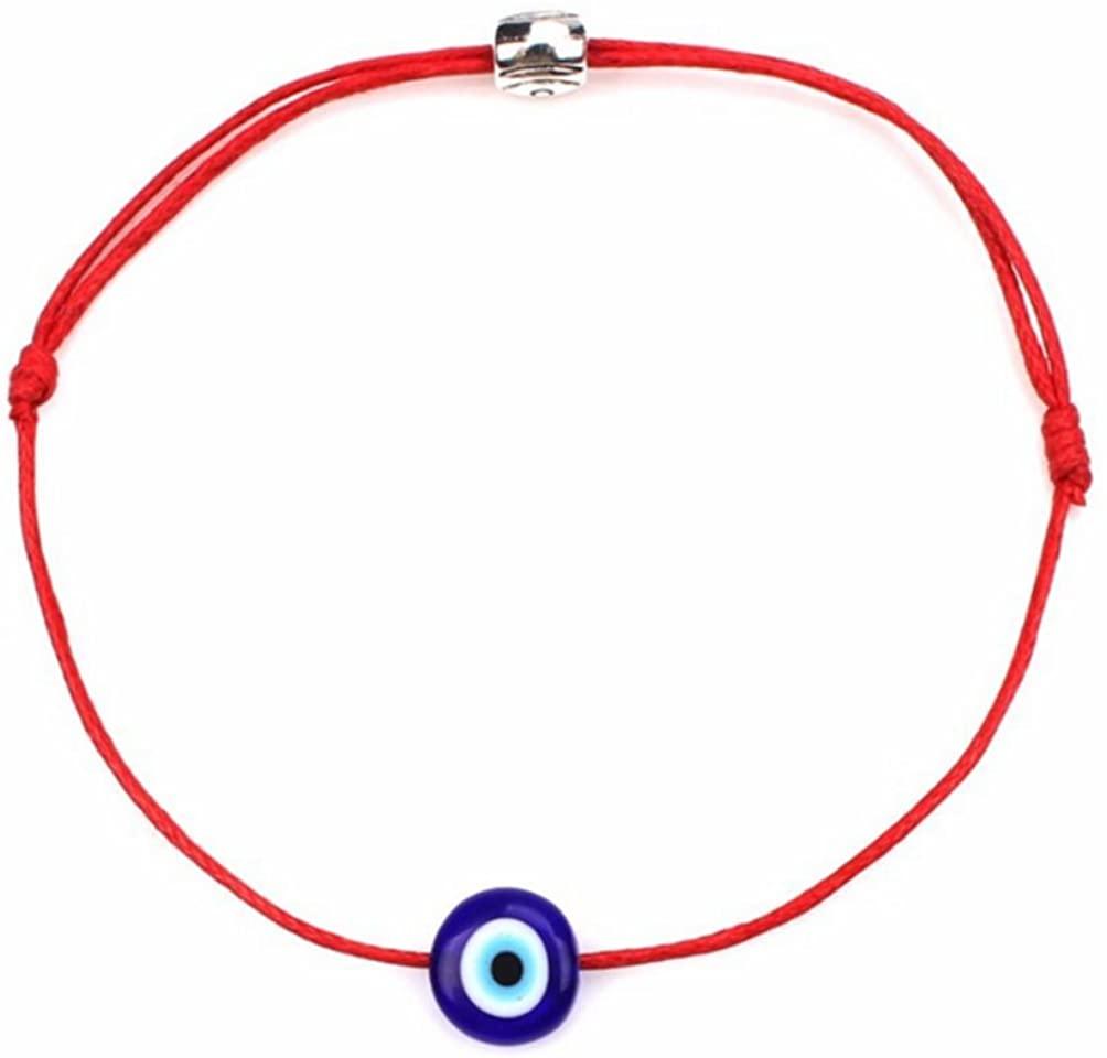 Ziper 2pcs Evil Eye Adjustable Bracelet Kabbalah String Bracelet/BFF Bracelet