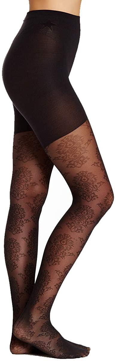 Spanx Star Power Women Center Medallion Patterned Shaping Tights - Trendy Leggings for Girls