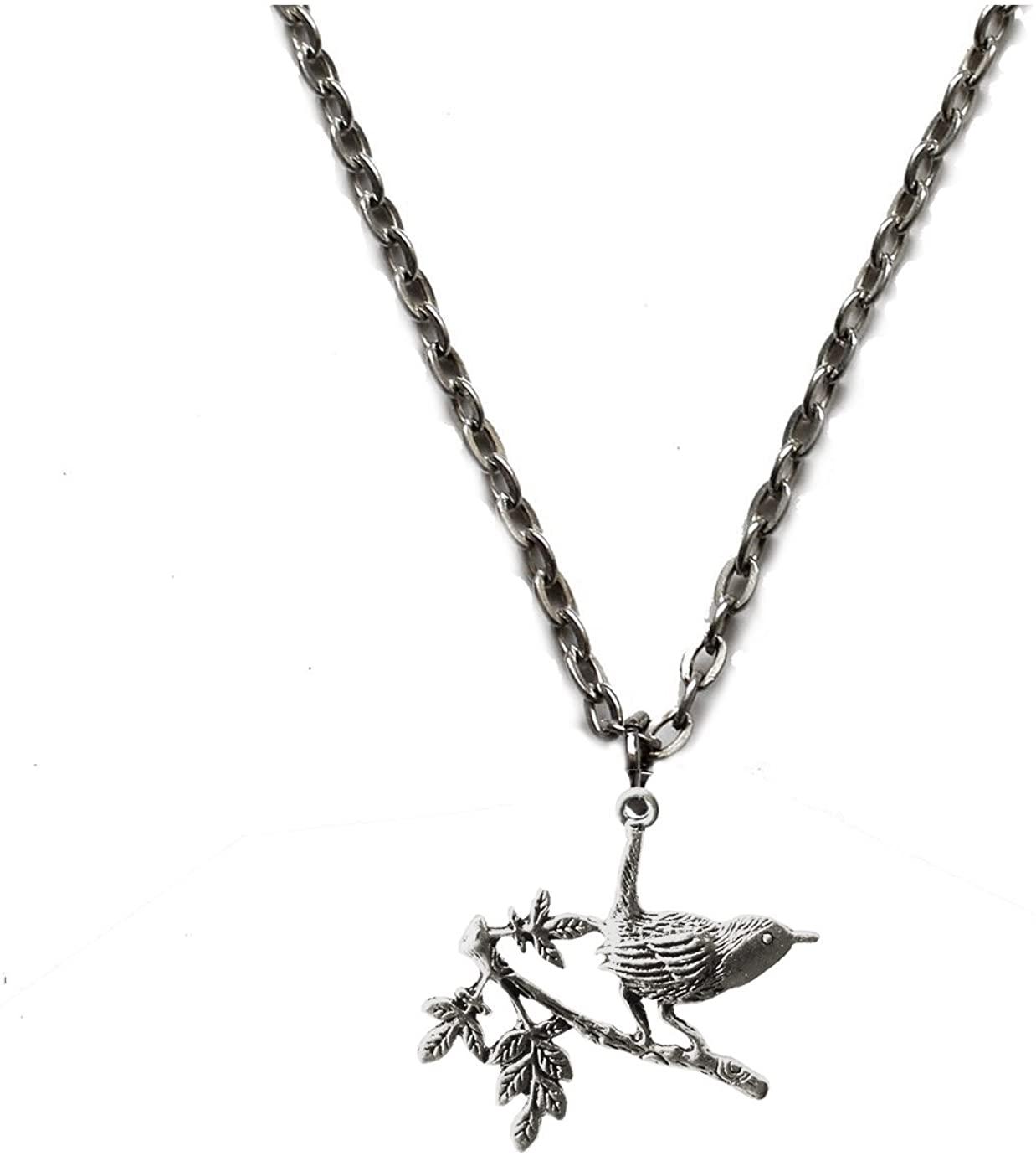 Victorian Vault Jewelry Hummingbird Pendant Necklace
