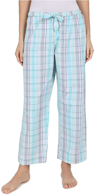 Nick&Jess Womens Soft Cotton Plaid Pajama Lounge Pants Sleep Pant