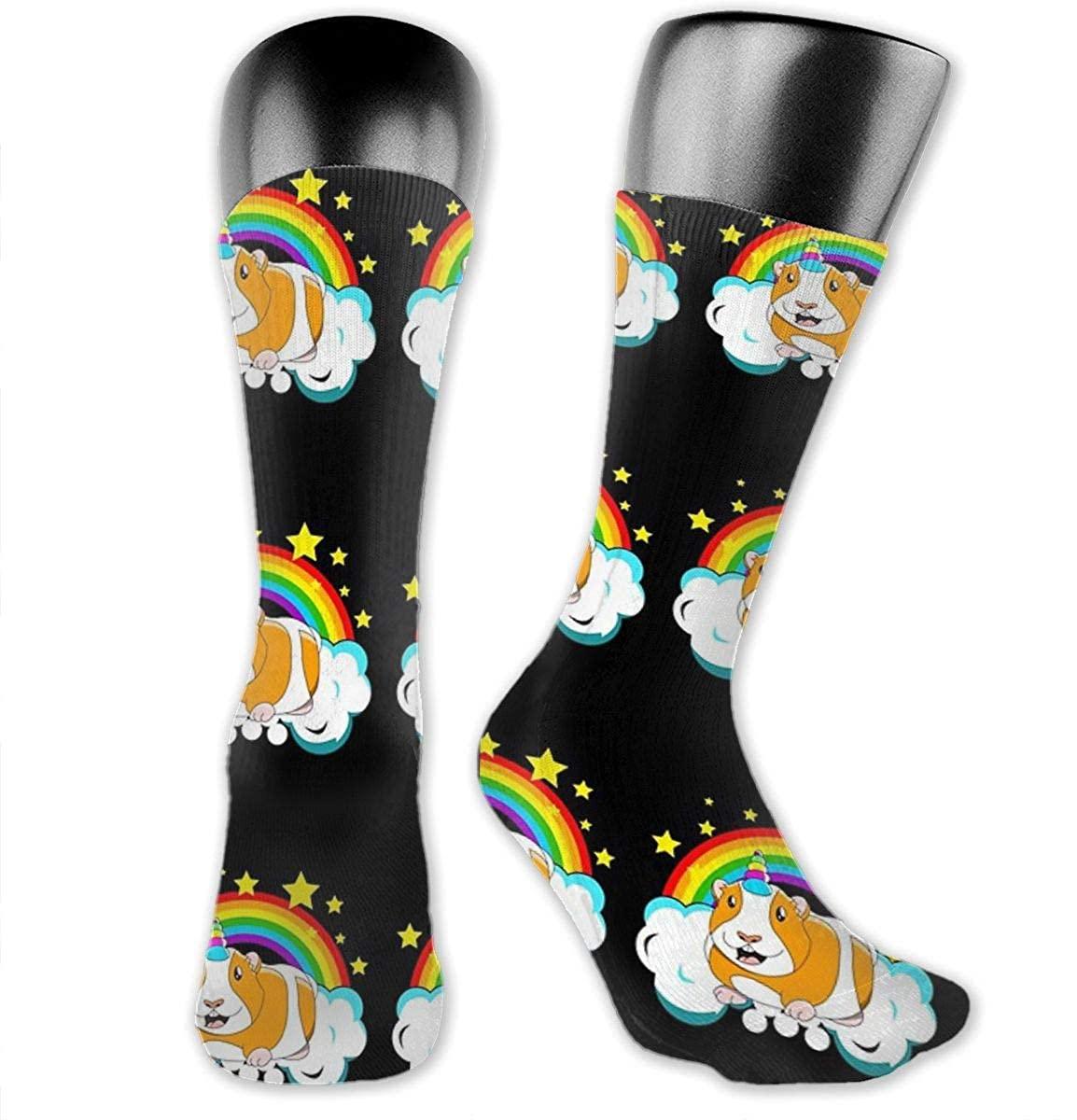 Unisex Crazy Funny Cool 3D Print Unicorn Rainbow Socks Colorful Running Sport Socks Novelty Casual Crew Socks