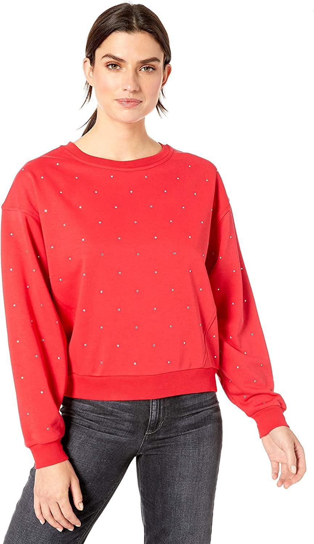 Skinnygirl Women's Vivika Dolman Sleeve Knit Top