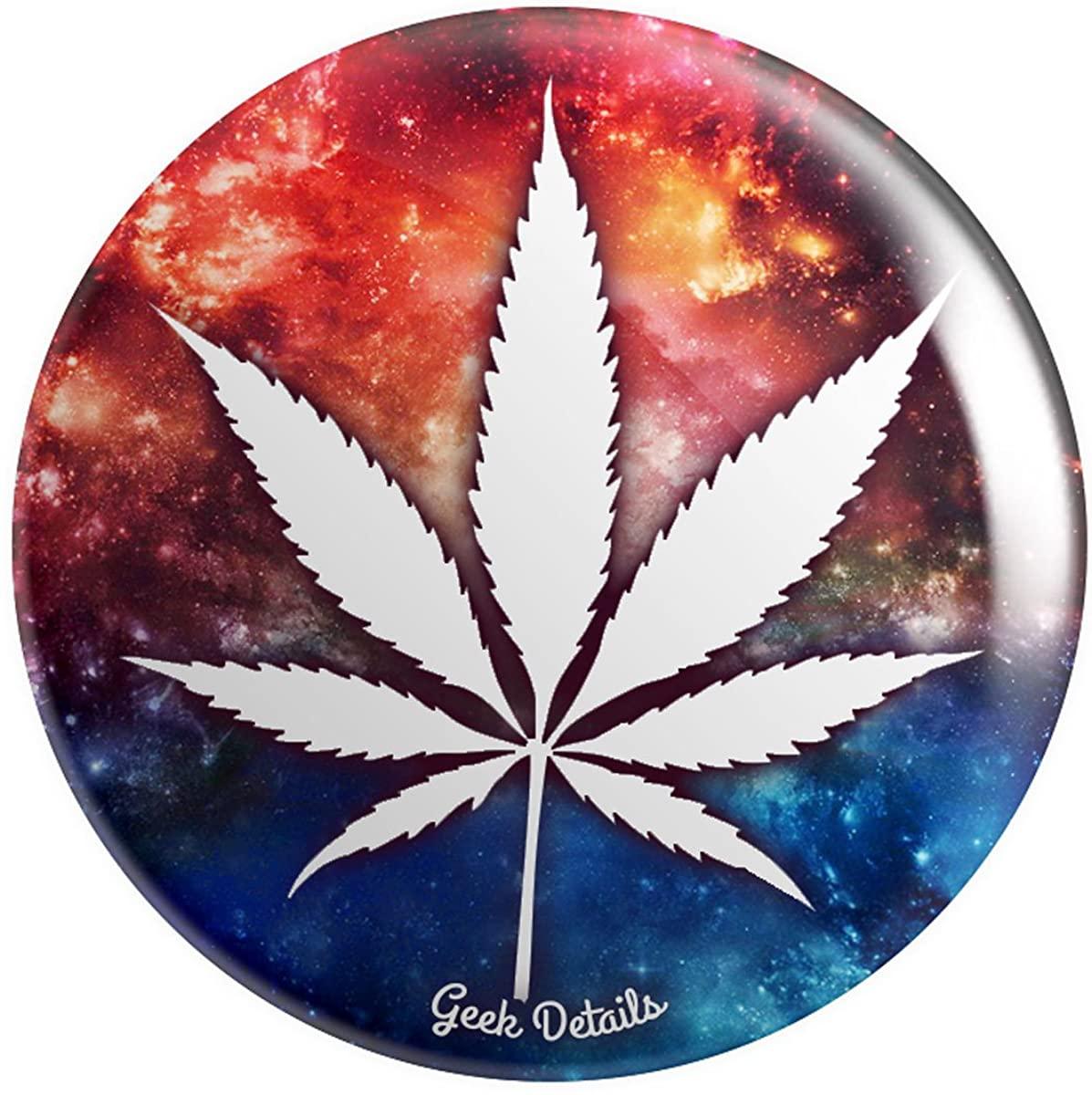Geek Details Cannabis Themed 2.25