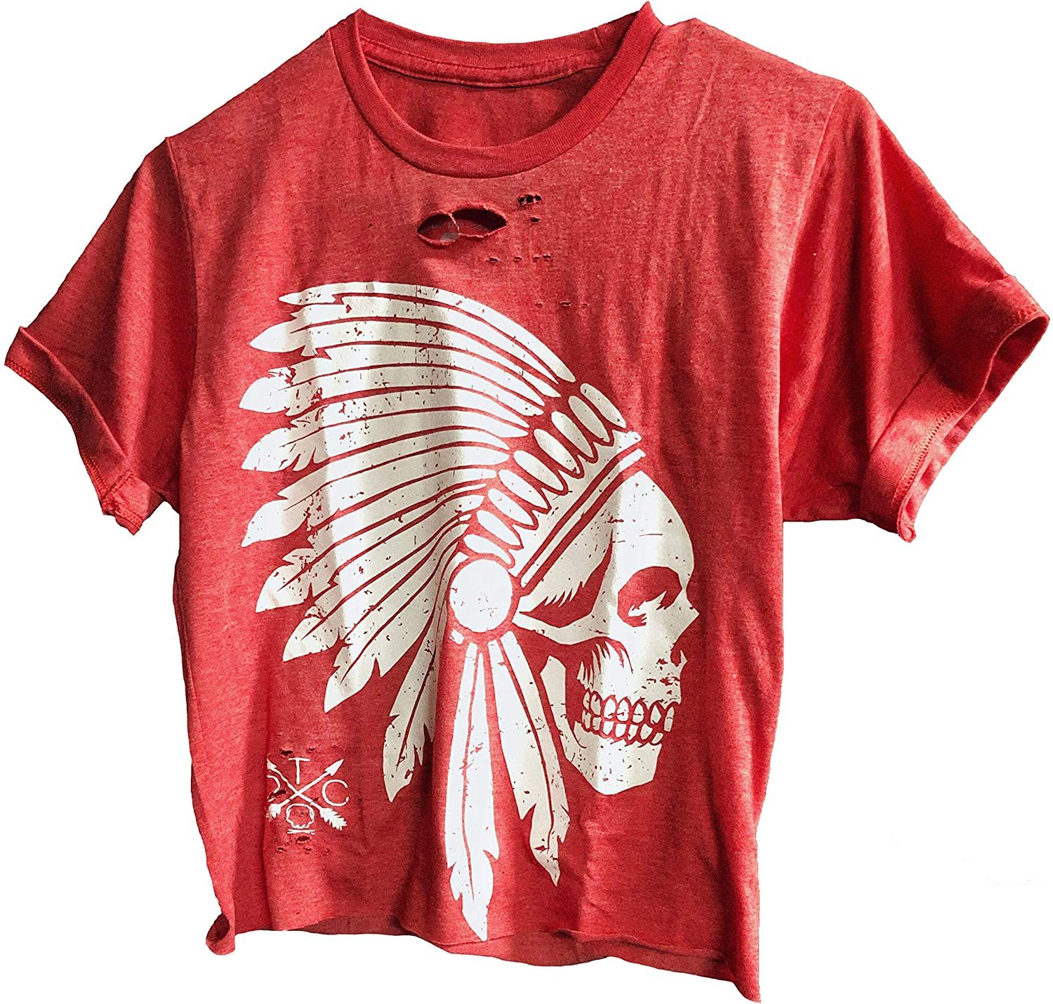 The Drive Clothing Apache Crop Top - Road Rash Collection 189