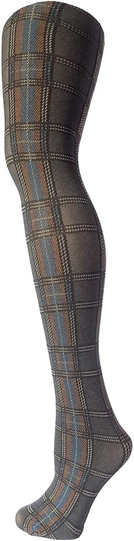 Makkat Italian Quality Women's soft knit pattern tights