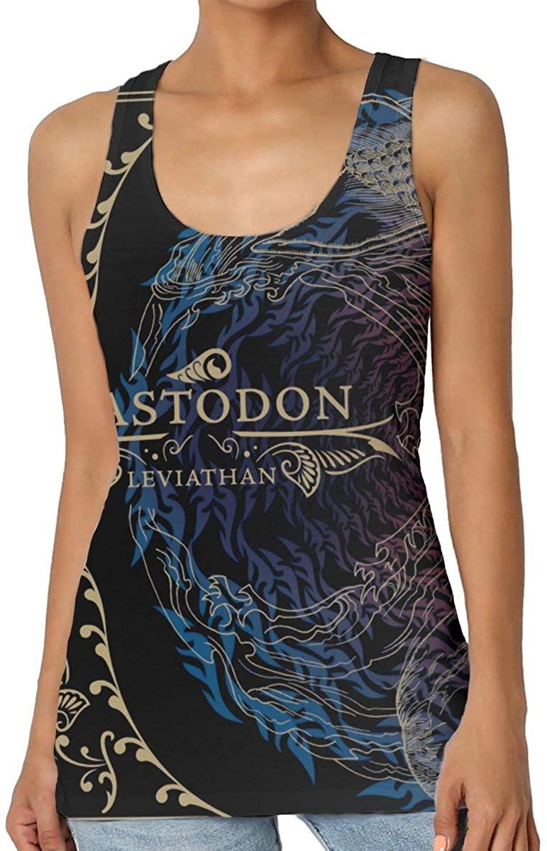 DaihAnle Mastodon Women's Sexy Vest Fashion Tank Vest T-Shirt