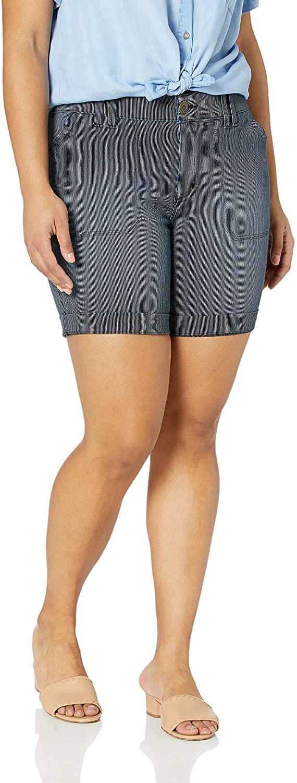 LEE Womens Plus Size Flex Motion Regular Fit Walkshort