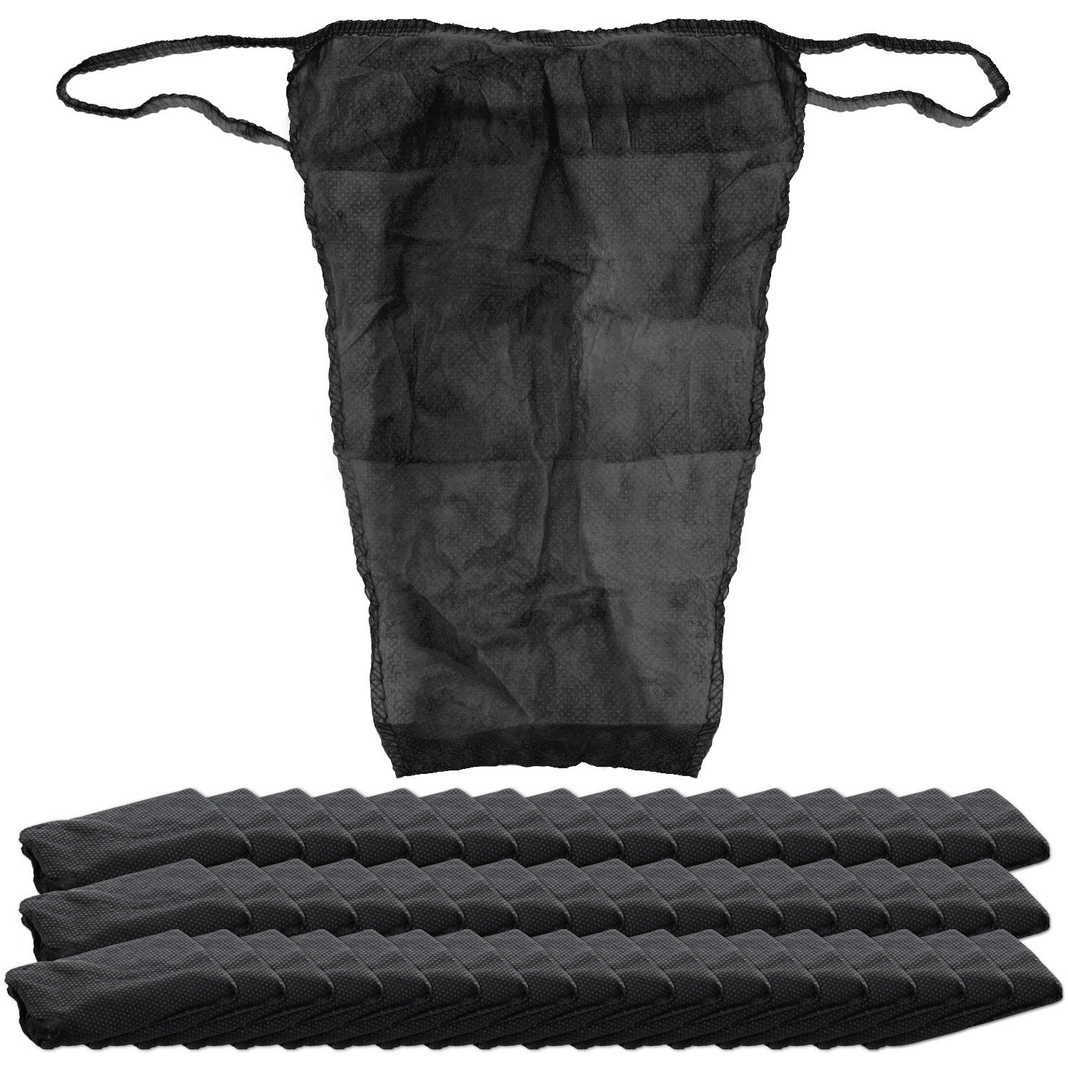 Belloccio Pack of 50 Disposable Thong Panties - Airbrush Spray Tanning, Body Wraps