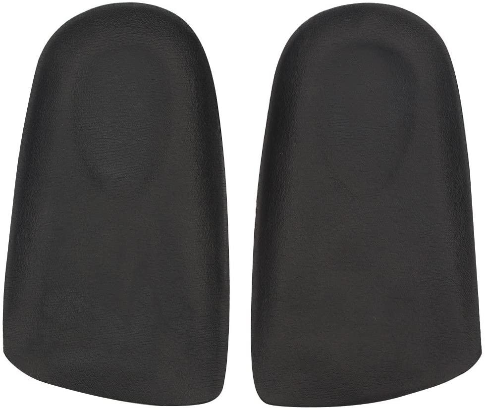footinsole Heel Cushion Dress Shoe Insoles - Best Shoe Inserts – Leather Black