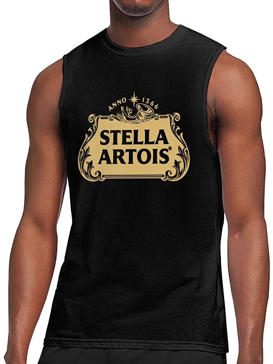 Stella Artois Beer Logo Men's Sleeveless T-Shirt