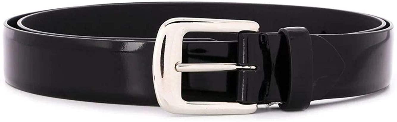 Luxury Fashion | Maison Margiela Woman S61TP0035PR697T8013 Black Leather Belt | Season Permanent
