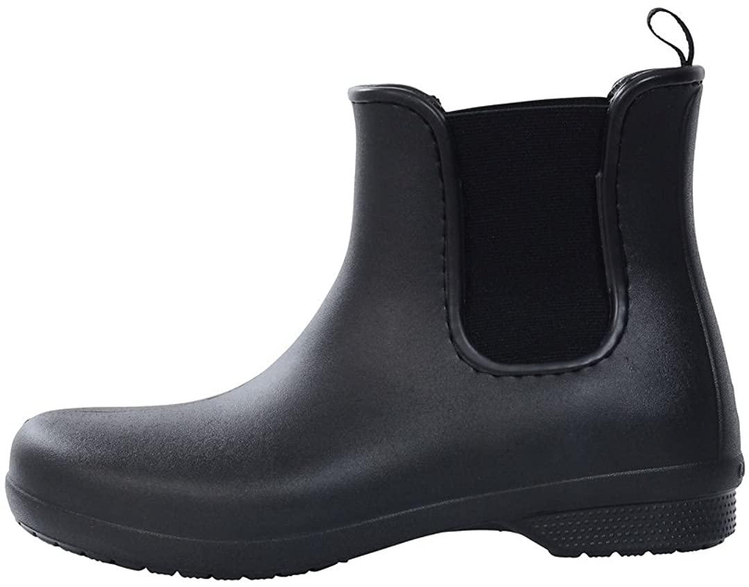 Crocs Women's Freesail Chelsea Ankle Boots | Rain Boots for Women | Water Shoes