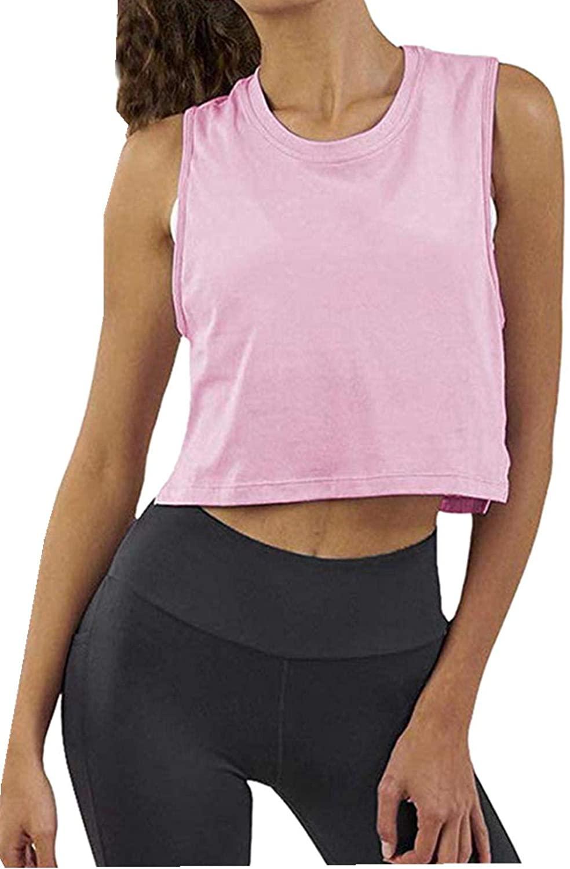 Summer T-Shirt Round Neck Cotton Slim School Campus Girl Korean Short Top Pink