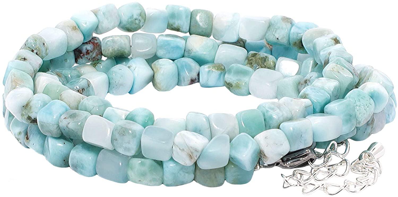 rainbow safety Multilayer Bracelet Healing Beads Necklace Gemstone Jewelry Agate DHgateite Amethyst Garnet Jasper BC