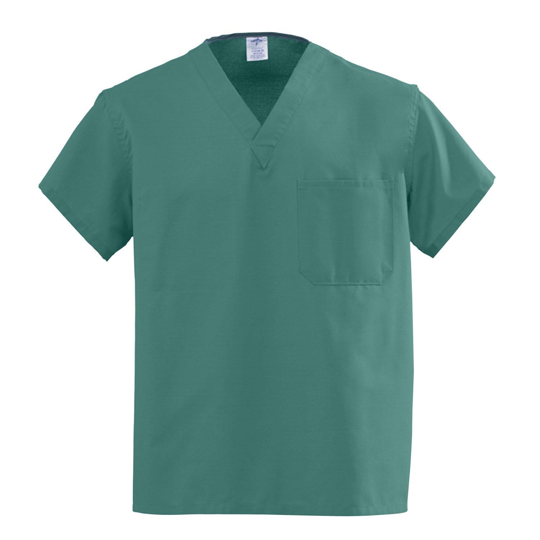 Scrub Top, Reversible, A-Stat, Emerald, ANG-CC, Small