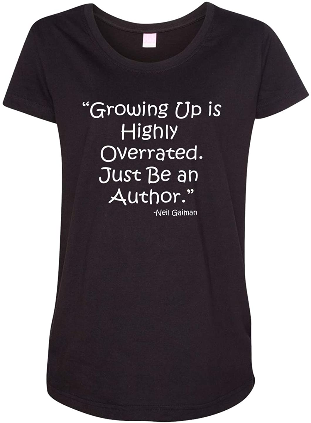 Tenacitee Ladies Growing Up is Highly Overrated Maternity Shirt