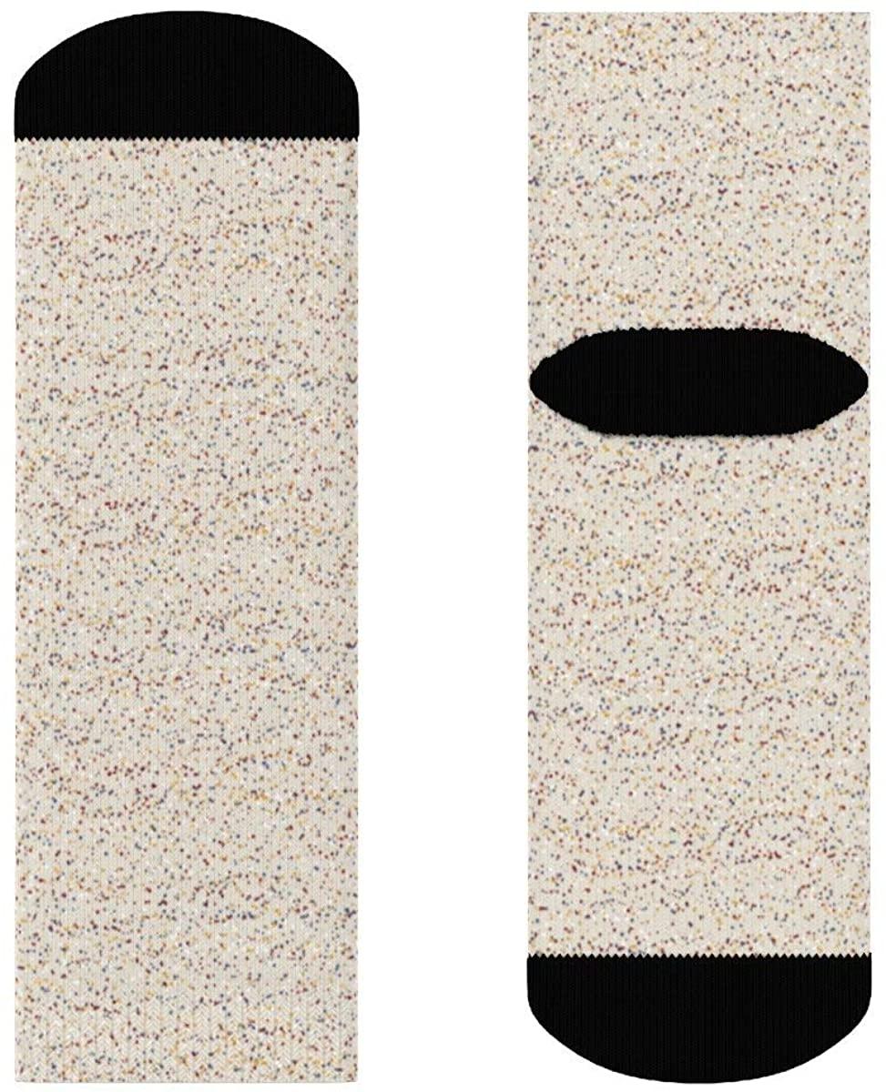 Snow Little Dots Mix Meadow Lark Crew Socks