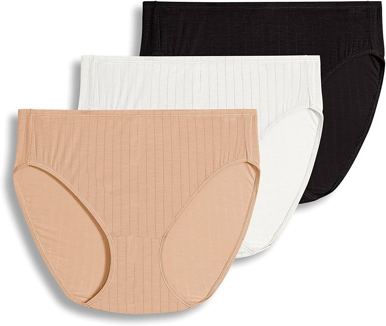 Jockey Women's Underwear Supersoft Breathe French Cut - 3 Pack