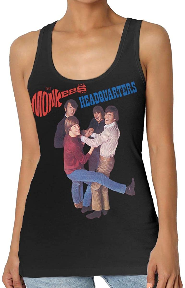 MaMing The Monkees Woman Fashion Sleeveless Vest Home Office Vests