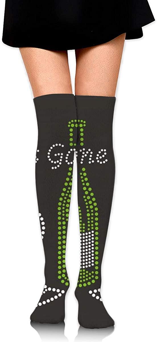 Game Life High Socks Girls Gone Wine Sport Socks Crew Socks