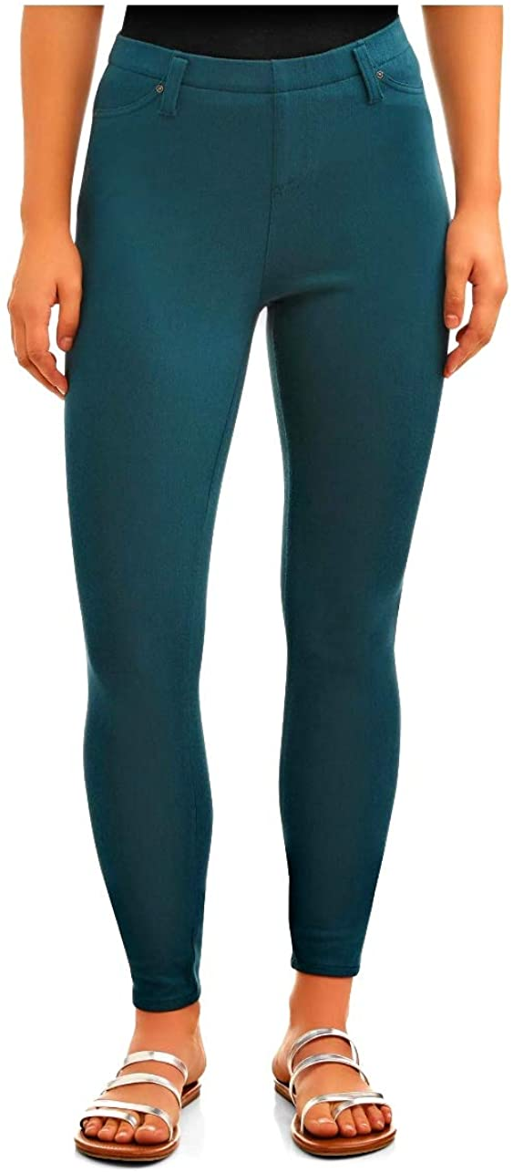 Time and Tru Gem Slate Fitted Jegging