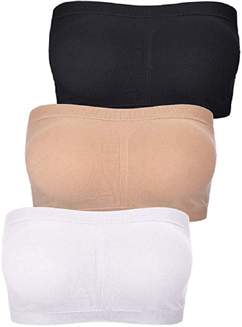 Wonder-Beauty Sports Bras for Women Seamless Wireless Sleep Bra Workout Yoga Bra with Removable Padded