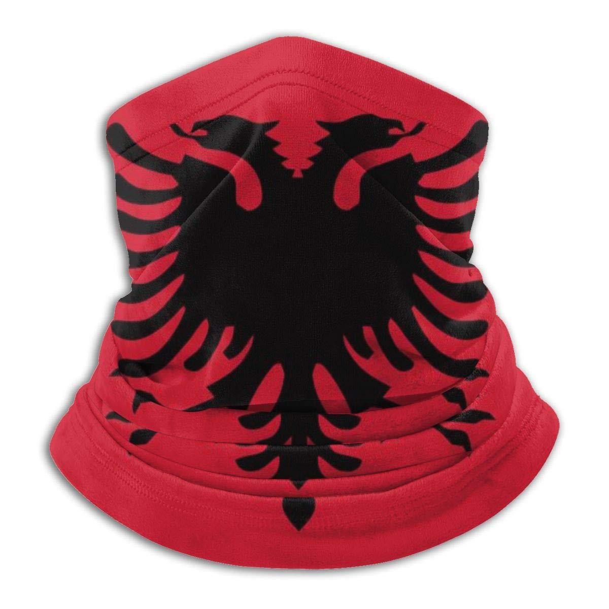 Albania Flag Bandanas Magic Headband Face Mask For Dust, Outdoors, Festivals, Sports