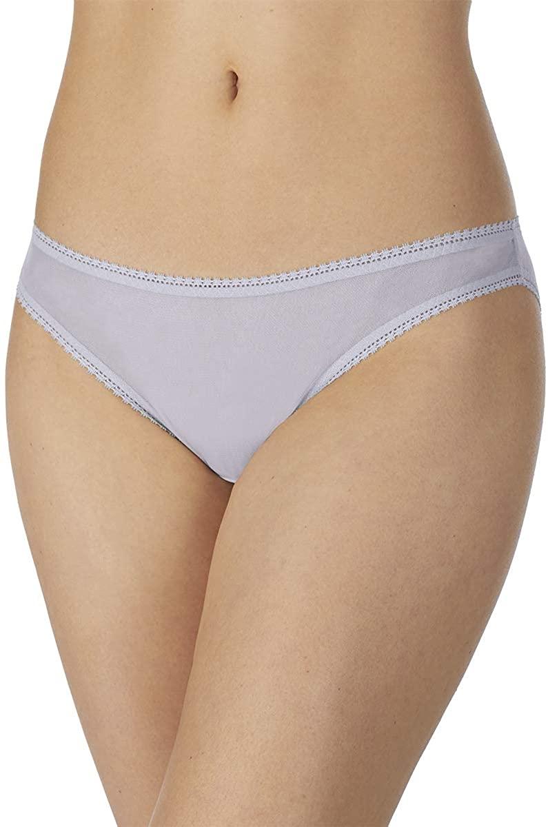 OnGossamer Women's Gossamer Mesh Low-Rise Bikini Panty