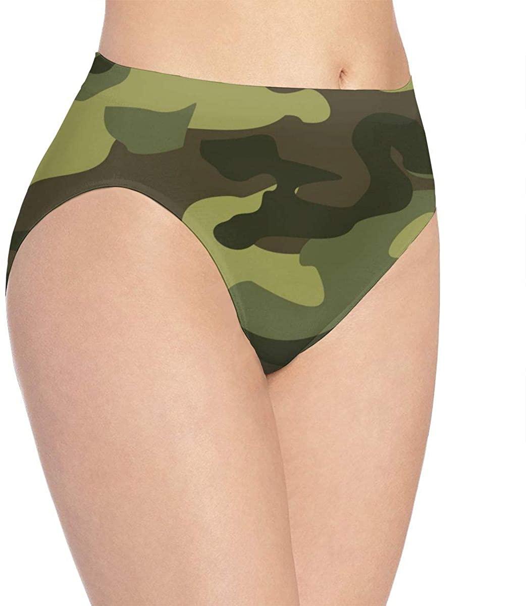 Womens Seamless Underwear Watercolor Floral Bikini Panties Stretch Briefs Laser Cut