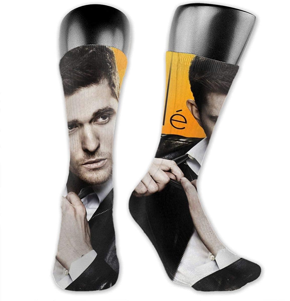 Michael Buble Medium Long Socks Dress Hose Crew Short Anklet For Workout