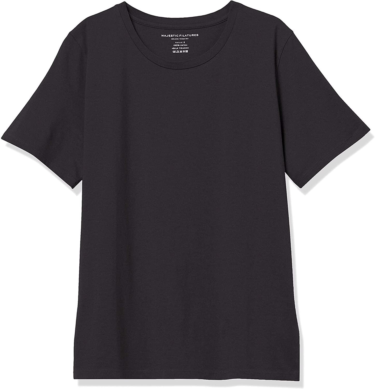 Majestic Filatures Women's Short Sleeve Crew Neck T-Shirt