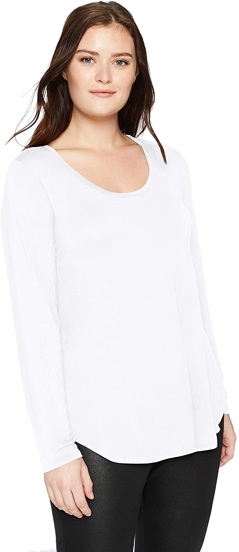 DHgate Brand - Daily Ritual Women's Plus Size Jersey Long-Sleeve Scoop Neck Shirt