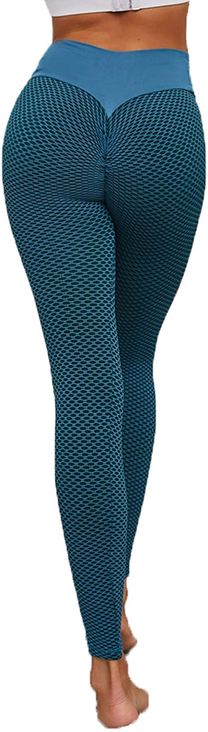 Dawwoti Yoga Pants for Women Full-Length Active Pants 4 Way Stretch Active Tights