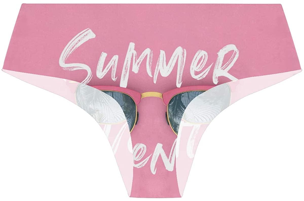 Randolph Wordsworth Summer Adventure Sunglasses Pink Womens Stretch Seamless Underwear Laser Cut Bikini Panties