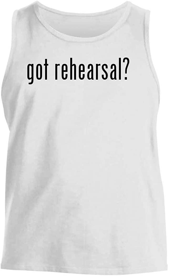 got rehearsal? - Men's Comfortable Tank Top, White, X-Large