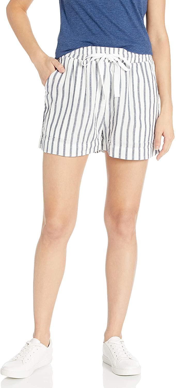 Three Dots Women's Stripe/Dot Gauze Shorts