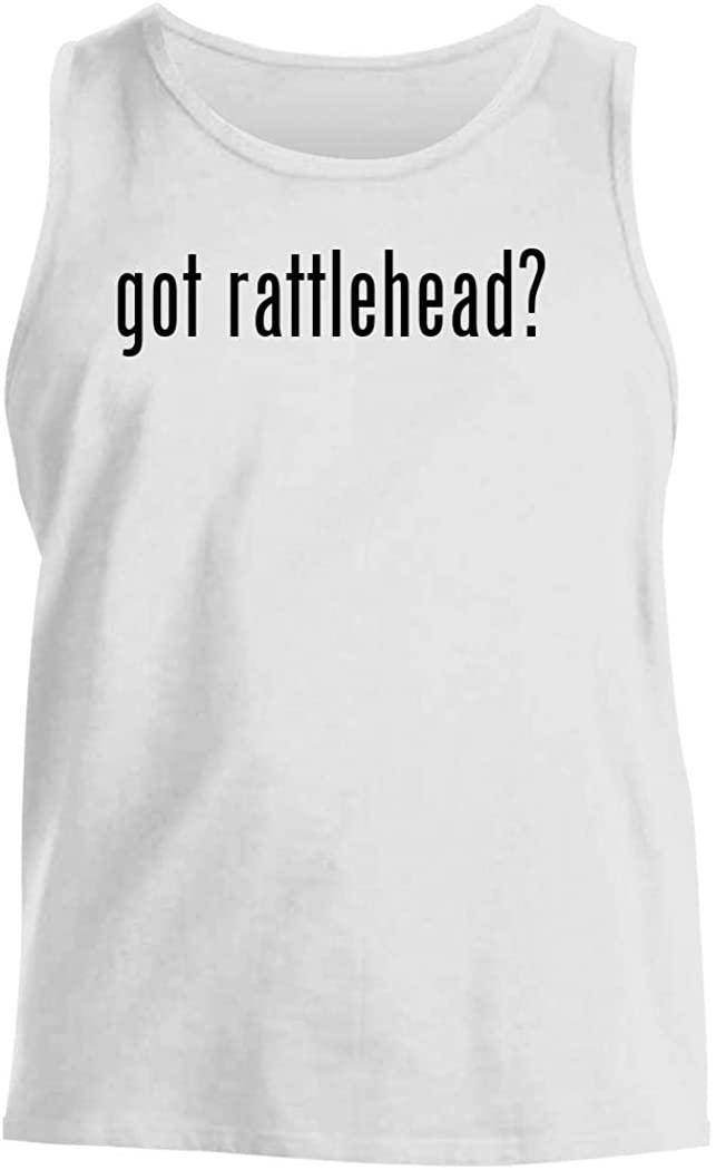 got rattlehead? - Men's Comfortable Tank Top, White, Large