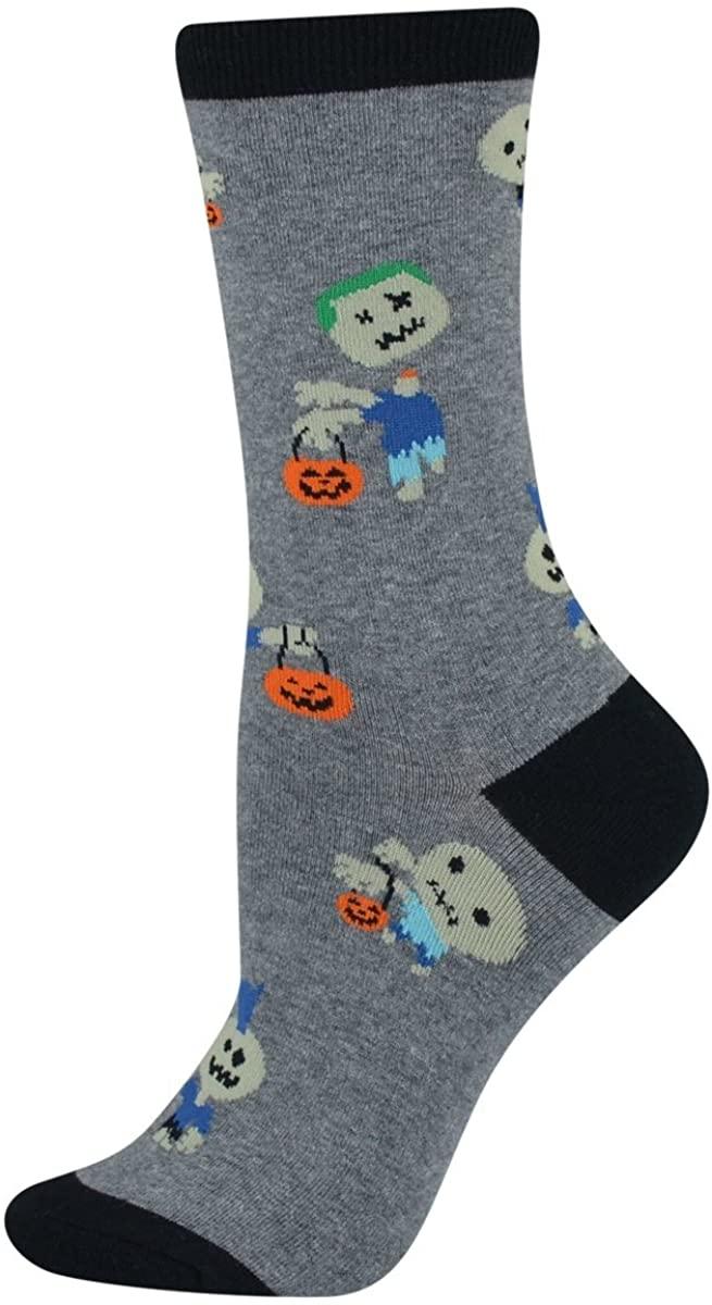K. Bell Womens Halloween Zombie Socks-size 9-11